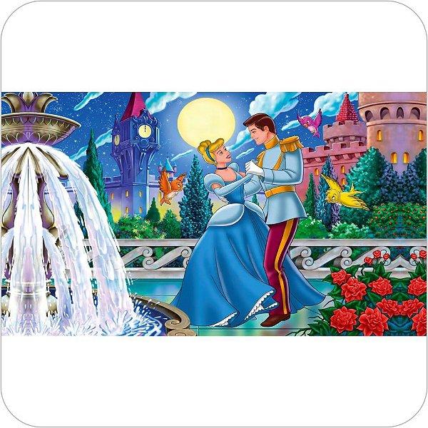 Painel de Festa Infantil Cinderela e o Príncipe