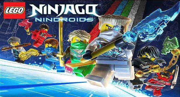 Painel para decoração de festa infantil  -  NinjaGo