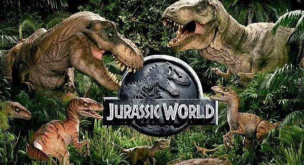 Painel para decoração de festa infantil - Jurassic World