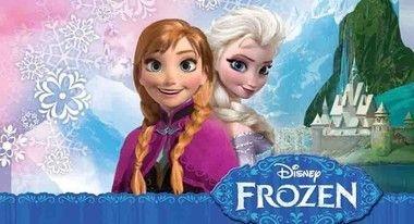 Painel de Aniversario Frozen Anna e Elsa