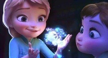 Painel de Aniversario Frozen Elsa e Anna Baby