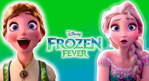 Painel de festa Fronzen  -  Frozen Fever