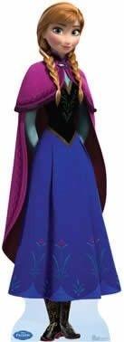 Princesa Anna cenário de mesa ou chão