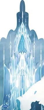 Painel de Aniversario Frozen - Castelo da Elza
