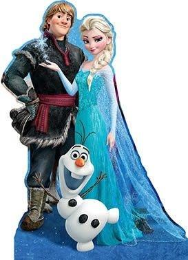 Displays Frozen para Mesa ou Chão Kristoff e Elsa