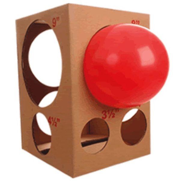 Caixa De Medidas Para Balões Bônus