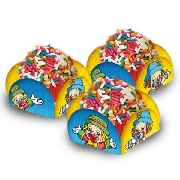 Porta forminha para doces Patati e Patatá 40 unidades | Festcolor
