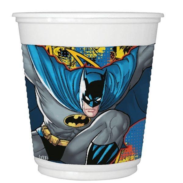 Copo descartável Batman - 8 unidades | Festcolor
