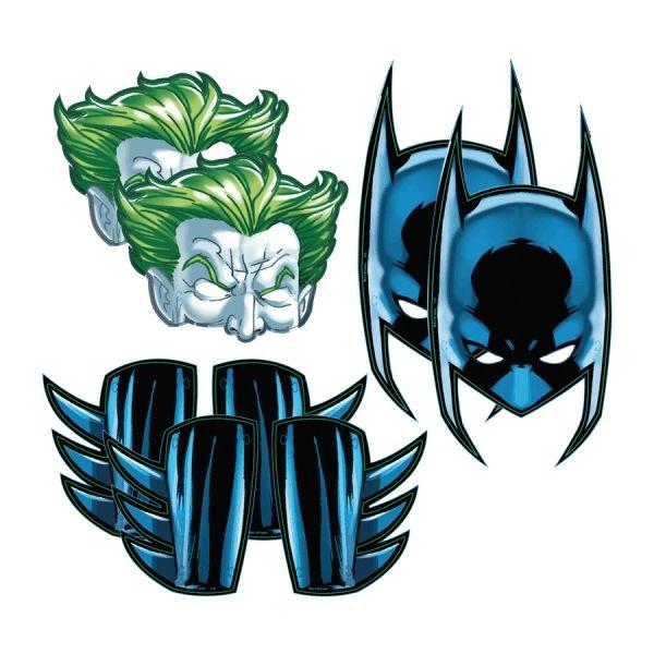 Máscaras para Lembrancinha Batman 08 unidades|Festcolor