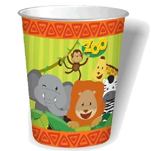 Copo Descartável Zoo 08 uni| Festcolor