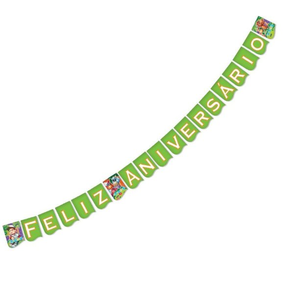 "Faixa Cocoricó ""Feliz Aniversário"" | Festcolor"