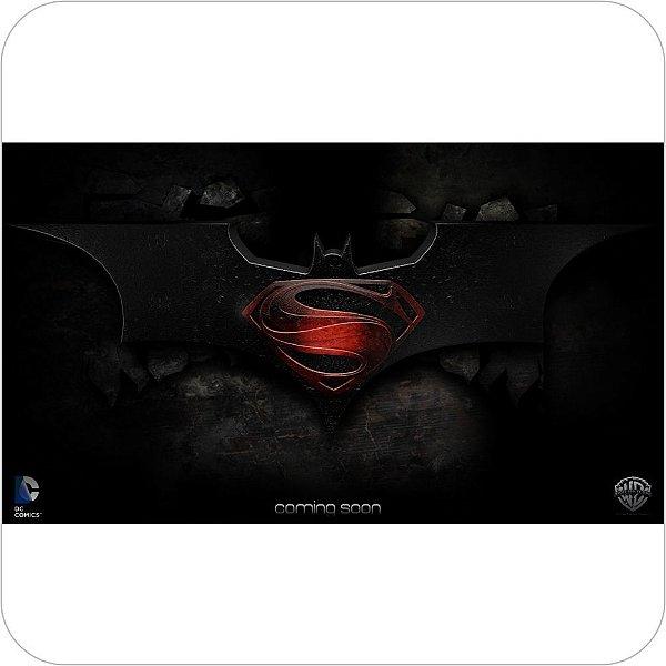 Painel de Festa Infantil Batman vs Superman Logo II