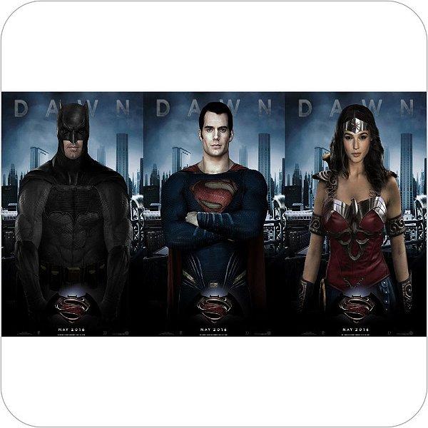 Painel de Festa Infantil Batman vs Superman - Trio