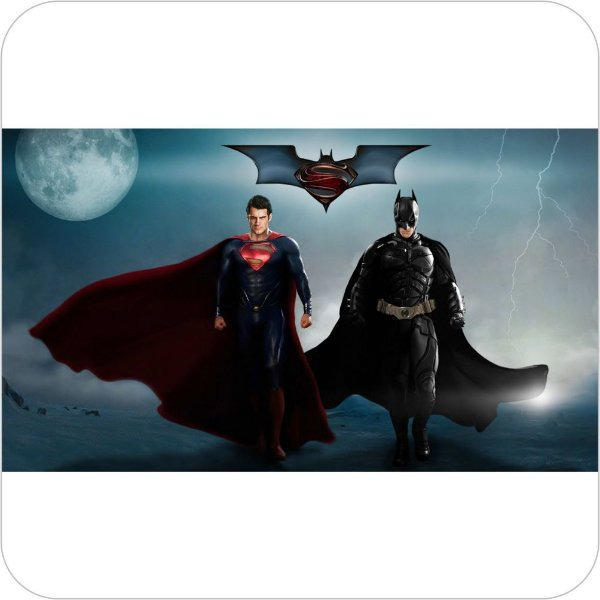 Painel de Festa Infantil Batman vs Superman - Clark e Bruce II