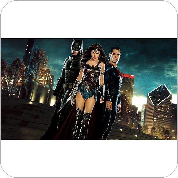 Painel de Festa Infantil Batman vs Superman - Mulher Maravilha