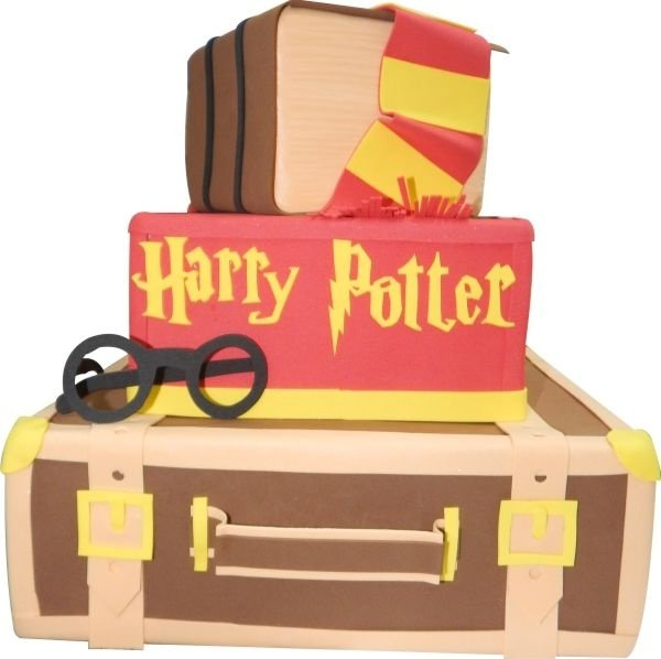 Bolo Cenográfico Harry Potter