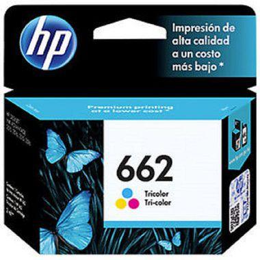 Cartucho HP 662 Colorido