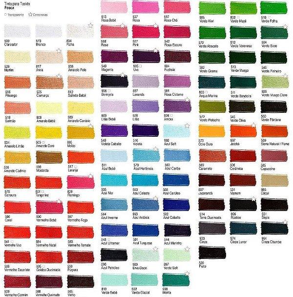 Tinta para tecido Acrilex 37ml