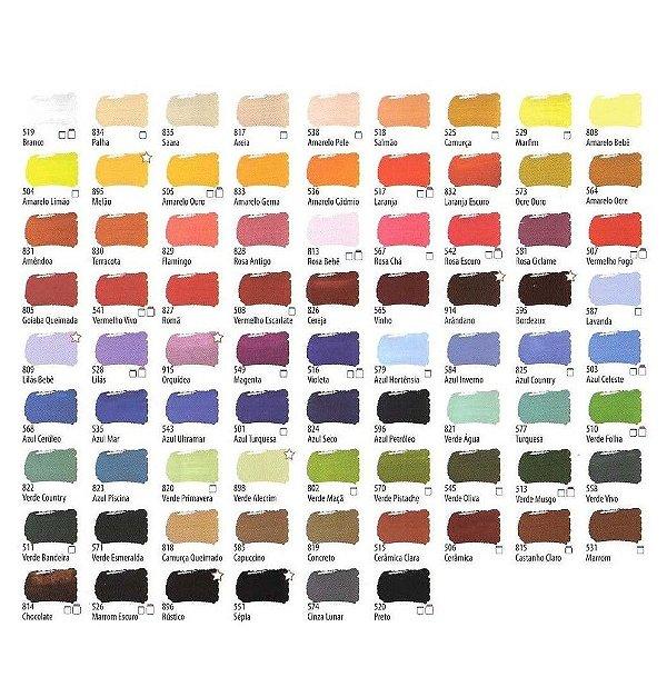 Tinta PVA Fosca para Artesanato Acrilex 37 ml