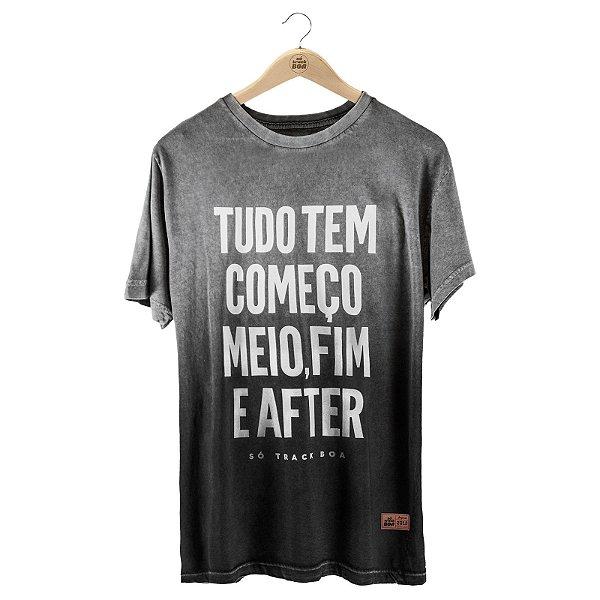 Camiseta Tradicional Começo, Meio, Fim e After