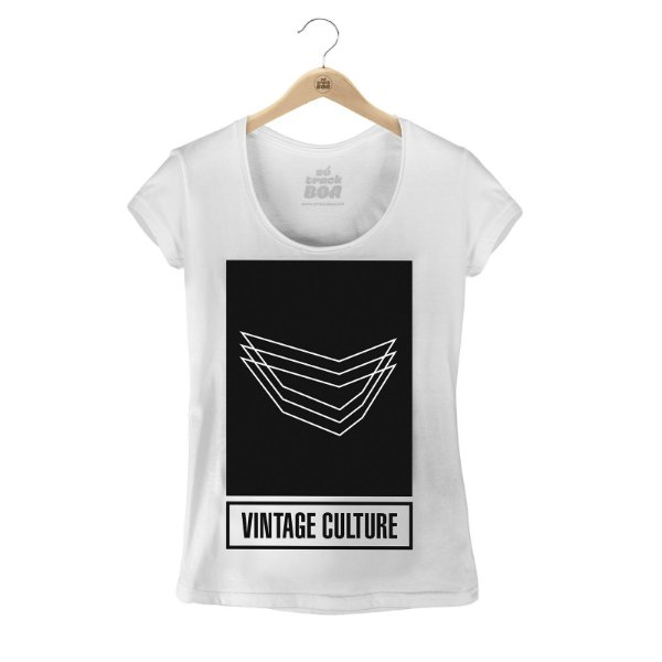 Camiseta Babylook Vintage Culture Team