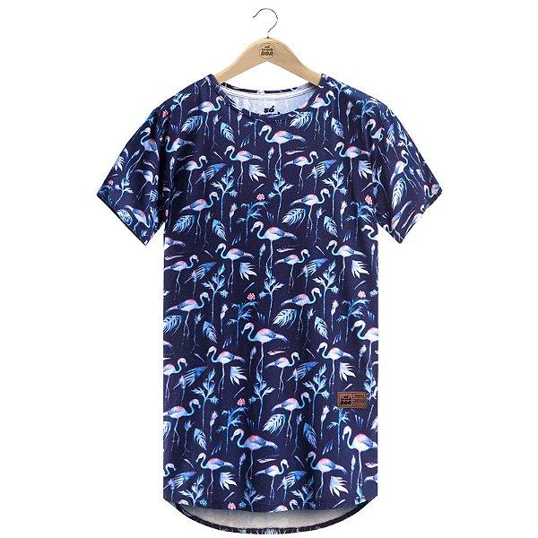 Camiseta Blue Flamingo