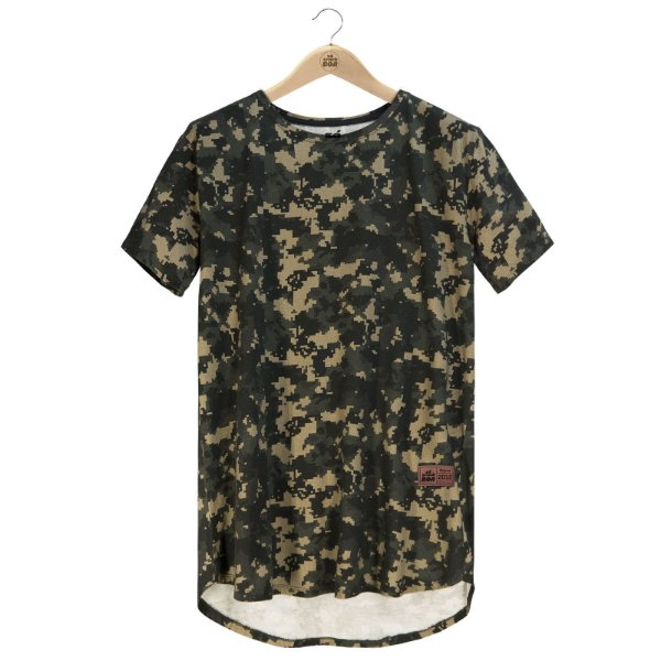 Camiseta Digital Cammo
