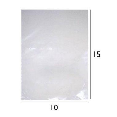 Saco Plástico de Polietileno - PEBD - 10x15