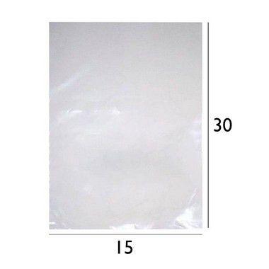 Saco Plástico de Polietileno - PEBD - 15x30