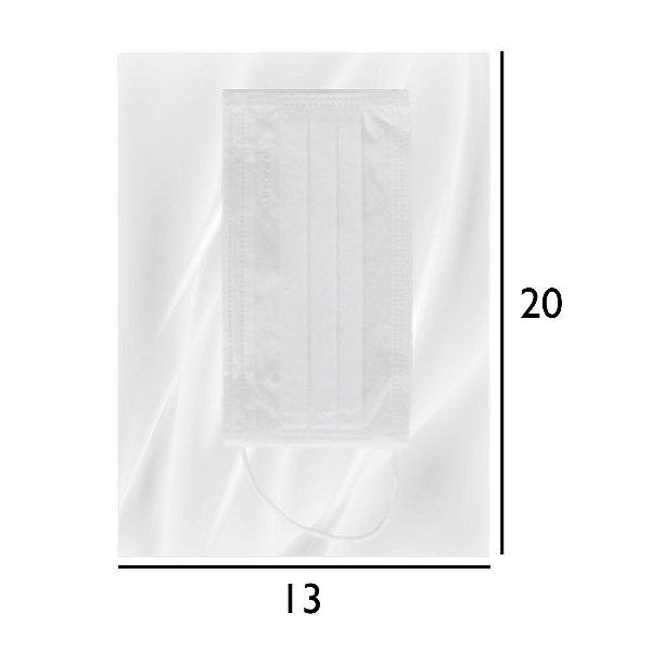 Embalagem para Máscara Respiratória - Saco PEBD Transparente