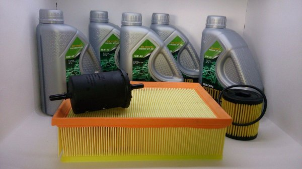 Kit Óleo 10w40 Sm 5 Lts +filtros C4 Pallas Gran Picasso 2.0