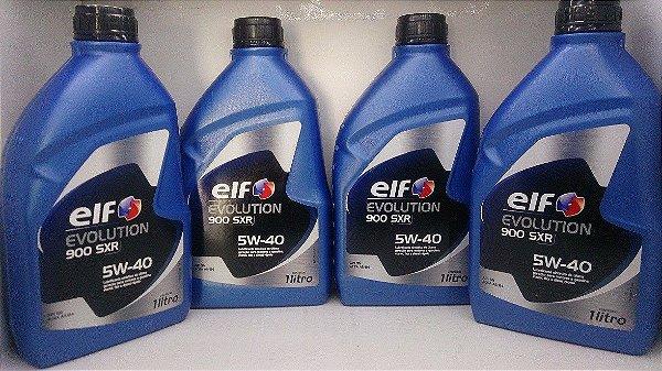Óleo 5w-40 Vw 502.00 Elf Kit 4 Litros 100% Sintético Api Sn