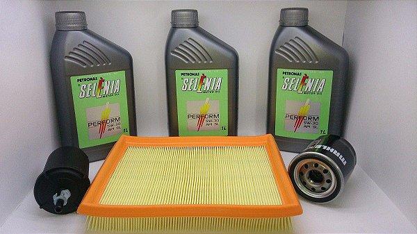 Óleo Selenia 5w30 100% Sintetico +filtros Fiat Idea 1.4 Fire Palio 2009