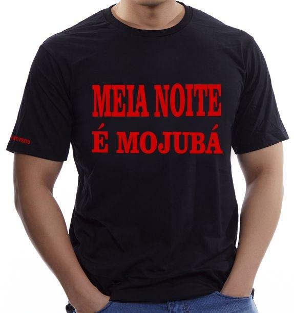Camiseta Meia Noite é Mojubá