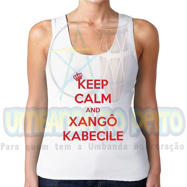 Regatinha Keep Calm and Xangô Kabecile