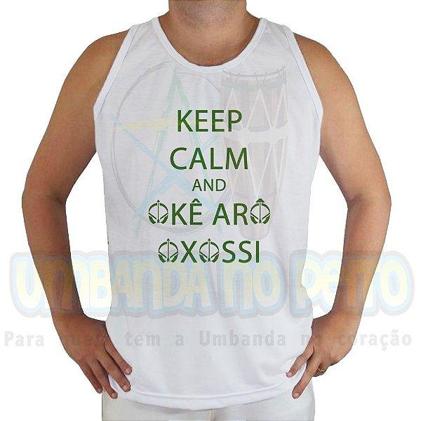 Regata Keep Calm and Okê Arô Oxossi