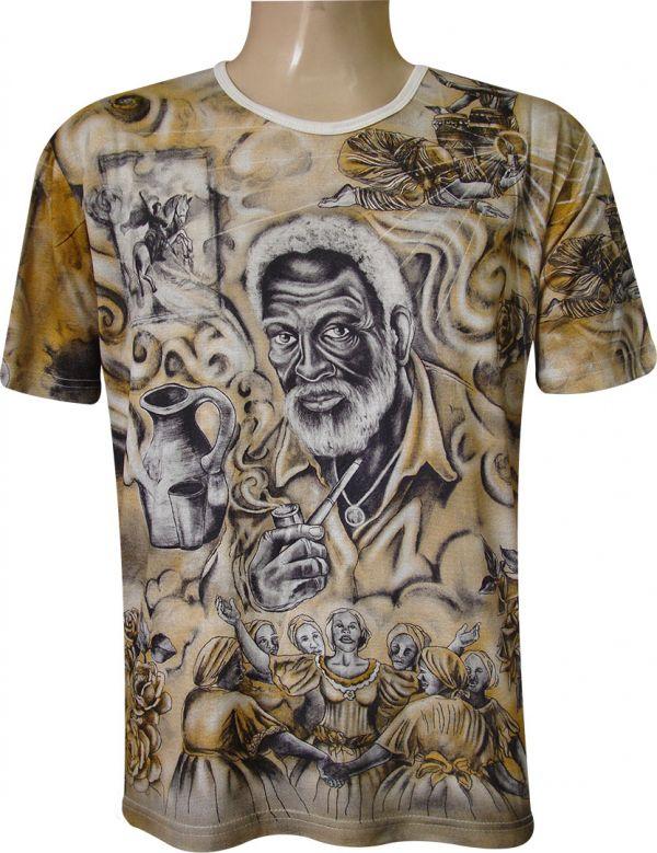 Camiseta Pretos-Velhos II Viscose