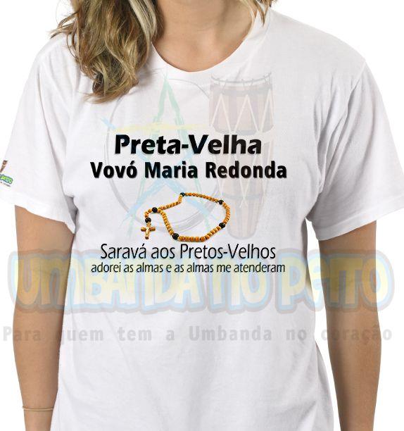 Camiseta Vovó Maria Redonda