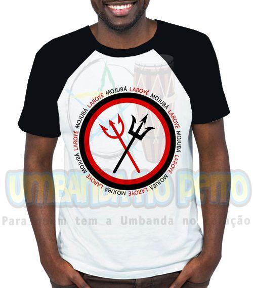 Camiseta Personalizada Exu & Pomba-Gira