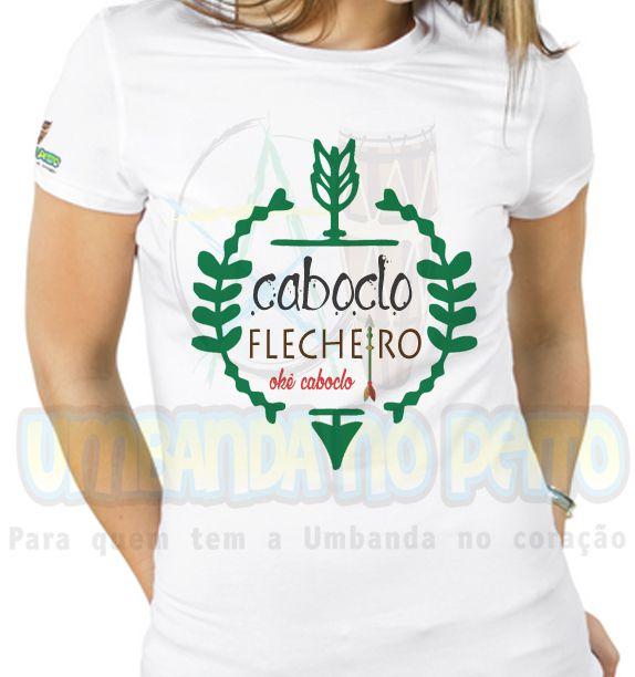 Baby Look Caboclo Flecheiro