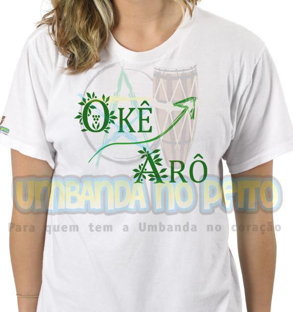 Camiseta Okê Arô Oxossi II (TAM P)