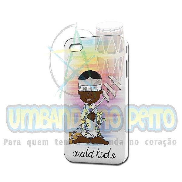 Case Branca Oxalá Kids (somente iPhone 4/4S)