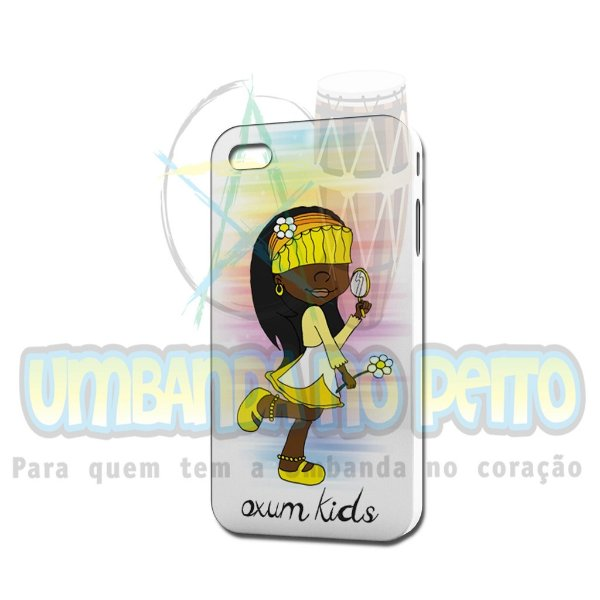 Case Branca Oxum Kids (somente iPhone 4/4S)