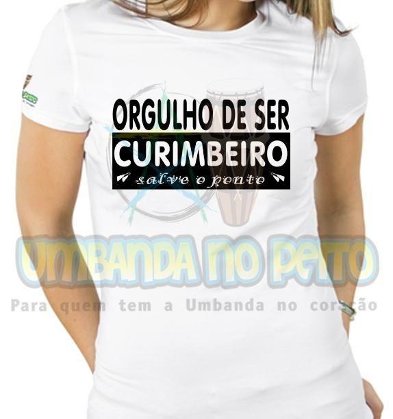 Baby Look Orgulho de Ser Curimbeiro