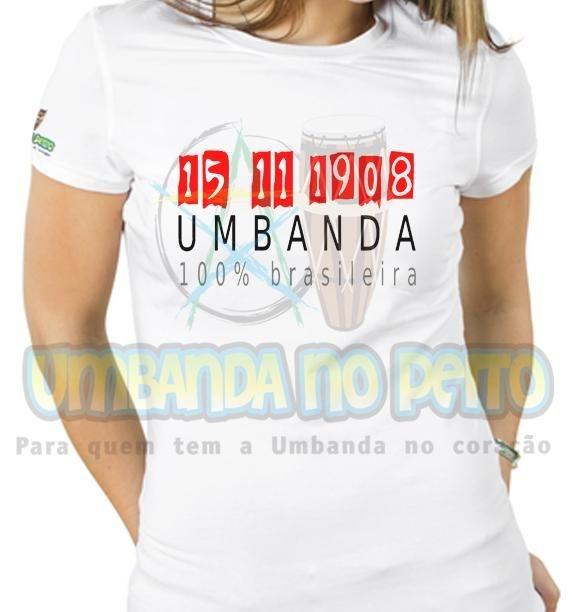 Baby Look Umbanda é Brasileira