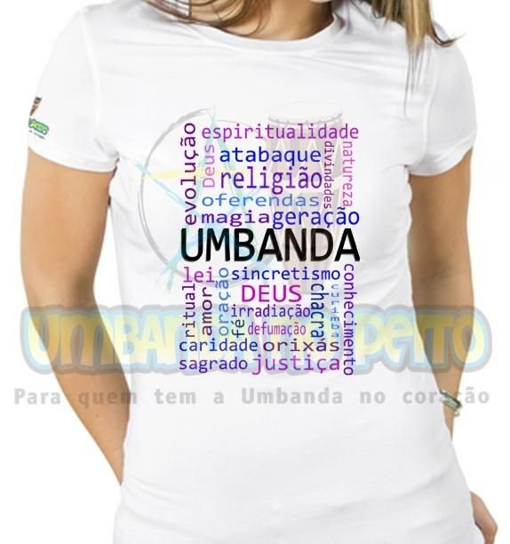 Baby Look Querida Umbanda