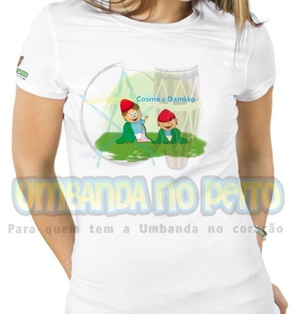 Baby Look Cosme e Damião