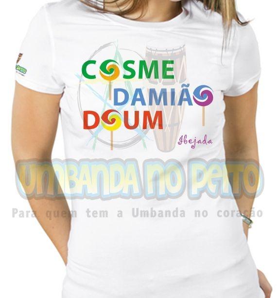 Baby Look Cosme, Damião, Doum