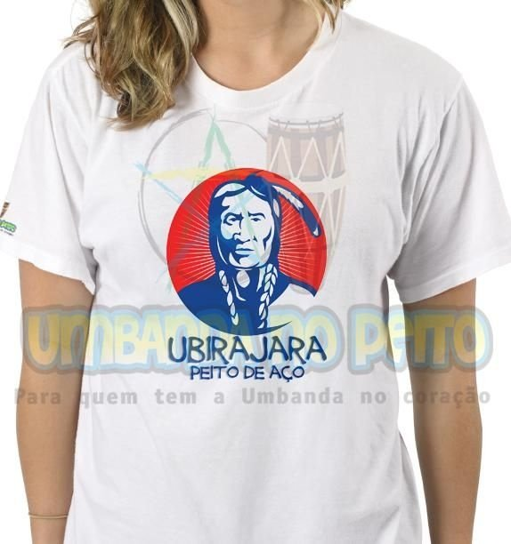 Camiseta Ubirajara Peito de Aço