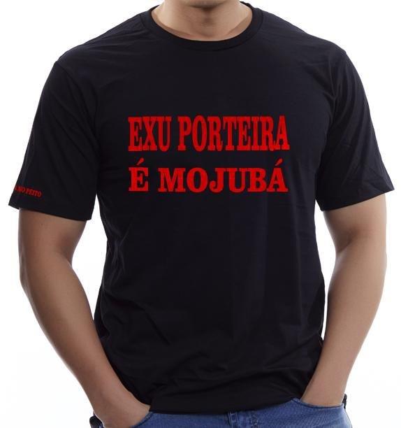 Camiseta Exu Porteira é Mojubá